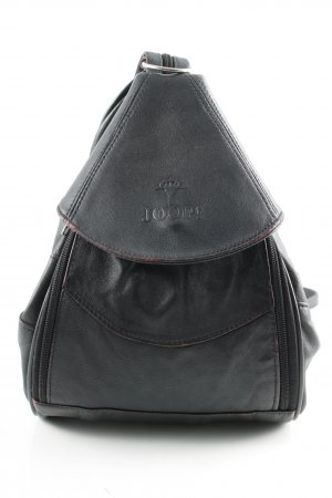 Joop! School Backpack black-red matte look