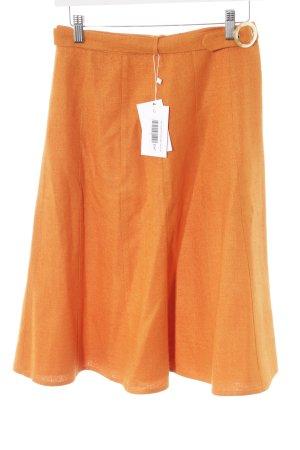 Joop! Gonna in seta arancione chiaro stile casual