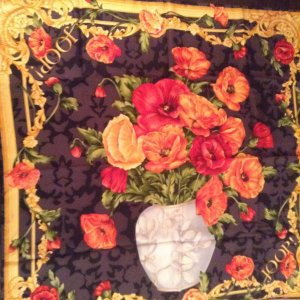 JOOP! Seidentuch mit Blumenprint