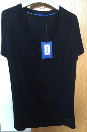 Joop! Shirt mit Wasserfallausschnitt Gr. 34