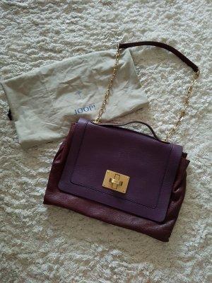 JOOP! Shoulder Bag Soft Leder Kettenhenkel*Letzter Preis!