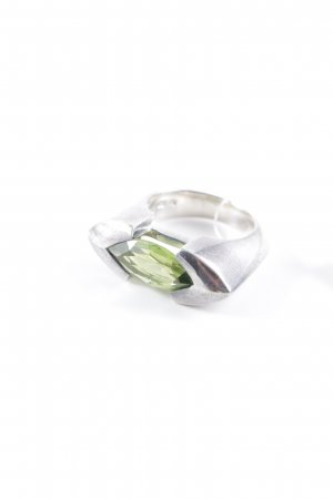Joop! Silver Ring silver-colored-lime-green extravagant style