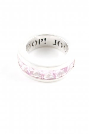 Joop! Silver Ring silver-colored-pink casual look