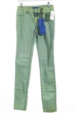 Joop! Skinny Jeans graugrün Used-Optik