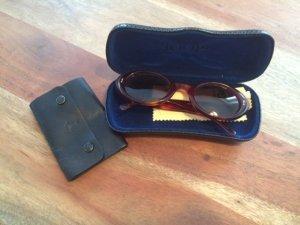 Joop! Oval Sunglasses brown-black leather