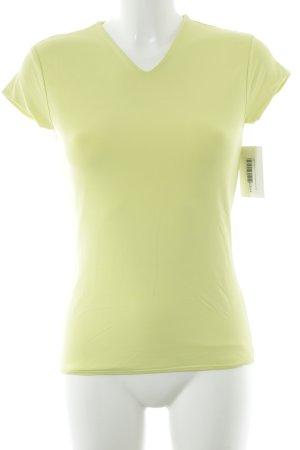 Joop! Maglietta sport giallo lime stile atletico