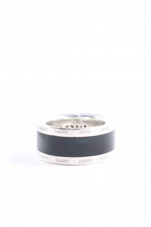 Joop! Statement Ring silver-colored-black casual look