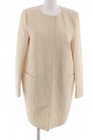 Joop! Quilted Coat natural white quilting pattern casual look