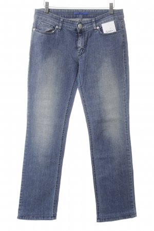 Joop! Straight-Leg Jeans blau Street-Fashion-Look