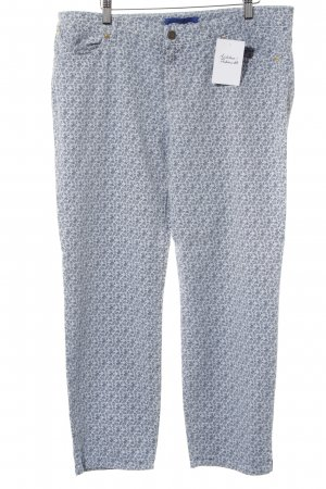Joop! Straight-Leg Jeans himmelblau-dunkelblau Blumenmuster Casual-Look