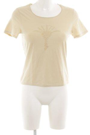 Joop! T-Shirt blassgelb Motivdruck Casual-Look