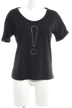 Joop! T-Shirt schwarz Motivdruck Casual-Look
