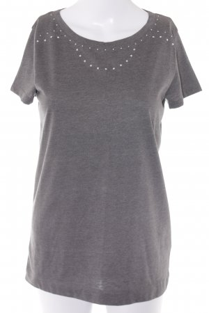 Joop! T-Shirt grau Casual-Look