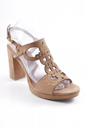 Joop! T-Strap Sandals light brown casual look