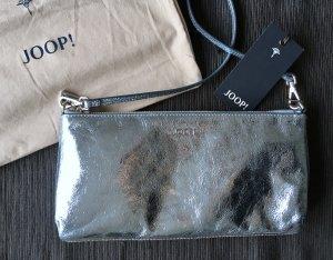 JOOP Tasche Blau Metallic Umhängetasche Clutch