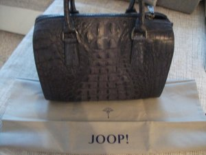 Joop Tasche in Croco Optik, Hemera Shopper, grau