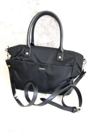 Joop! Crossbody bag black-silver-colored nylon