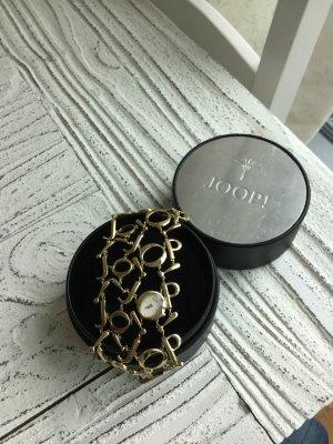 Joop! Reloj con pulsera metálica color oro