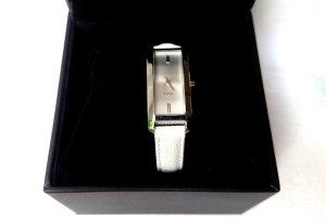 Joop! Uhr Damenuhr weiß silber schmal Neu ohne Etikett