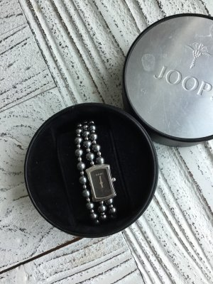 Joop! Watch With Metal Strap anthracite-silver-colored