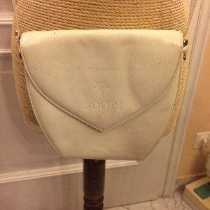 Joop! Mini Bag white-natural white leather