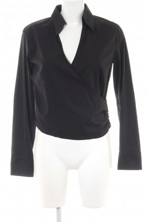 Joop! Wickel-Bluse schwarz Casual-Look