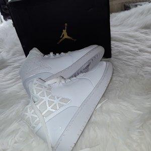Jordan Sneaker alta bianco