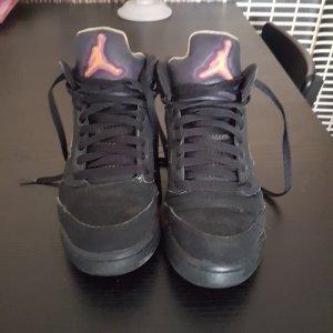 Jordans 5 Größe 38 in Schwarz