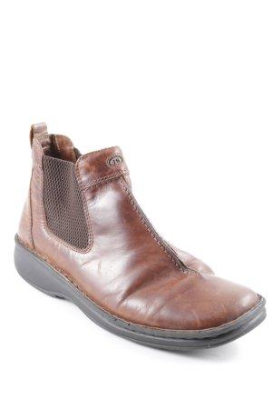 Josef seibel Chelsea Boot cognac style mode des rues
