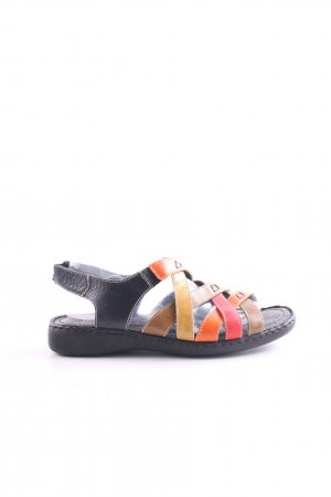 Josef seibel Strapped High-Heeled Sandals multicolored casual look