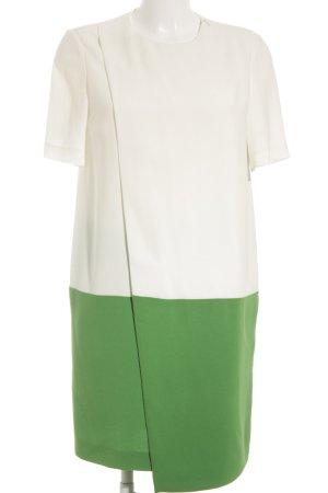 Joseph A-Linien Kleid grasgrün Wickel-Look