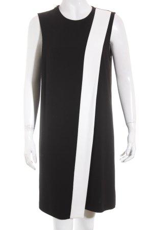Joseph A-Linien Kleid schwarz-weiß Elegant