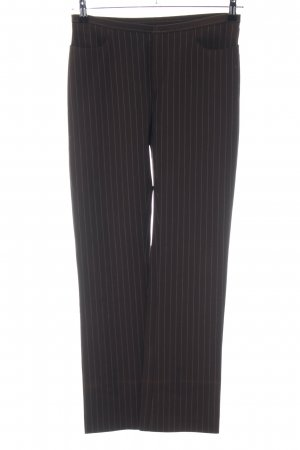 Joseph Suit Trouser brown-natural white striped pattern business style