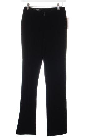 Joseph Pantalone di velluto a coste nero stile casual