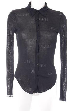 Joseph Hemd-Bluse schwarz schlichter Stil