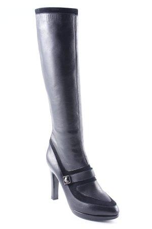 Joseph High Heel Stiefel schwarz Elegant