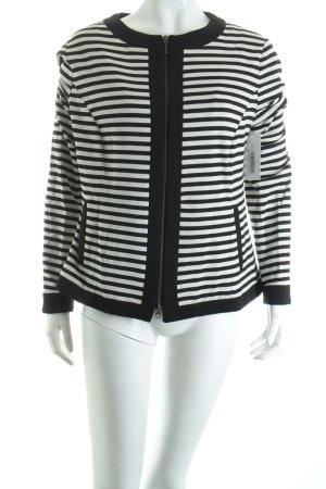 Joseph Janard Blazer weiß-schwarz Streifenmuster Street-Fashion-Look
