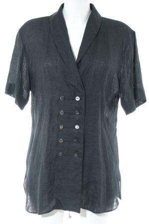 Joseph Janard Chaqueta tipo blusa gris claro elegante