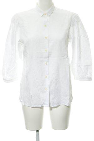 Joseph Janard Langarm-Bluse weiß