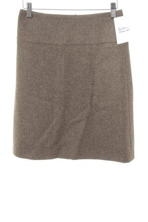 Joseph Janard Jupe tricotée marron clair-gris brun moucheté style d'affaires