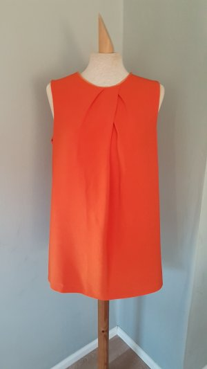 JOSEPH kleid dress oberteil shirt gr.40 orange