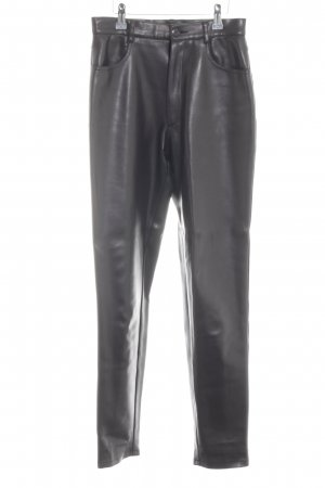 Joseph Leather Trousers black casual look