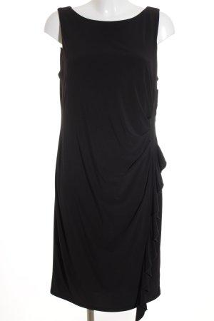 Joseph Ribkoff Abendkleid schwarz Romantik-Look
