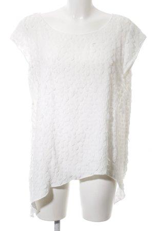 Joseph Ribkoff Mouwloze blouse wit casual uitstraling