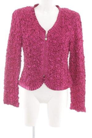 Joseph Ribkoff Blusenjacke pink extravaganter Stil