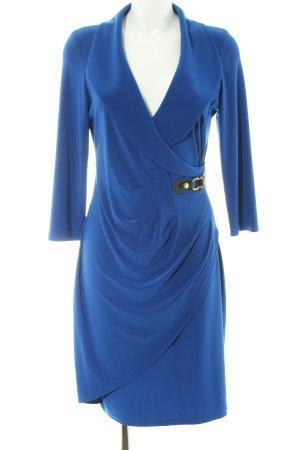 Joseph Ribkoff Cocktailkleid blau Business-Look
