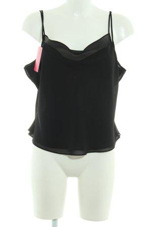 Joseph Ribkoff T-shirt court noir style simple