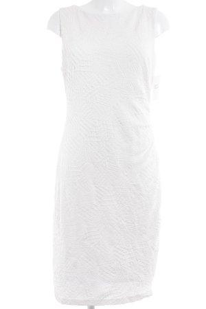 Joseph Ribkoff Etuikleid weiß abstraktes Muster Elegant