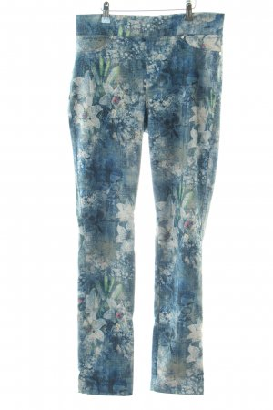 Joseph Ribkoff Jeggings blau Allover-Druck Casual-Look