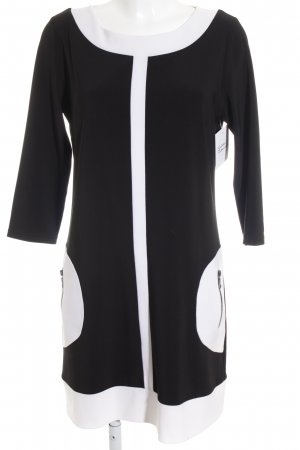 Joseph Ribkoff Jersey Dress black-white simple style
